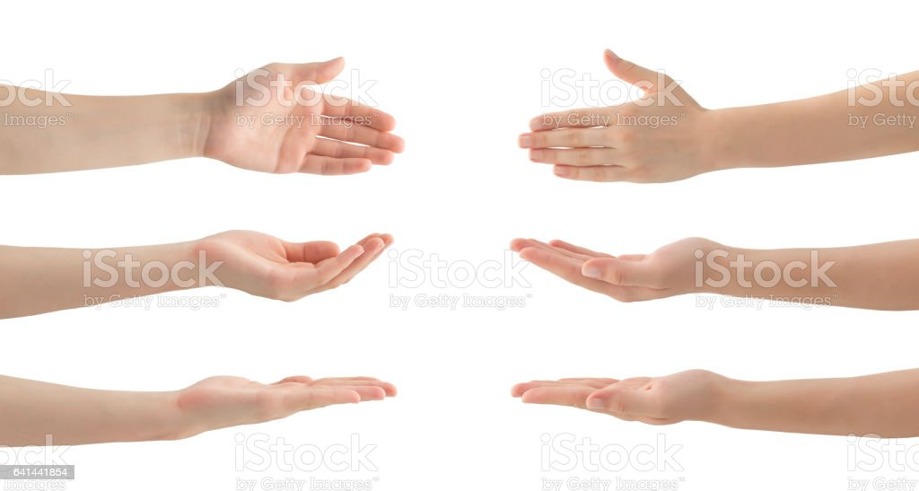 best hands cupped stock