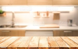 kitchen background table cooking blur wood backgrounds interior royalty concept abstract shutterstock vectors wall similar montage visual key display layout