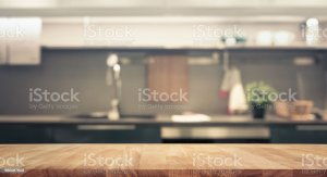 kitchen background blur table wall wood counter backgrounds maddington blank plumbing royalty similar istockphoto installations foster cooling heating llc contractor
