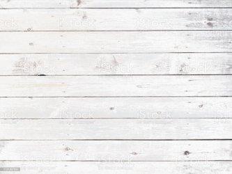 Tablones De Madera De Fondo Color Blanco Foto de stock y más banco de imágenes de Abstracto iStock