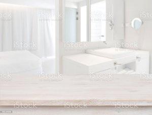 blurred background interior table resort wooden advertisement bathtub russia backgrounds bathroom