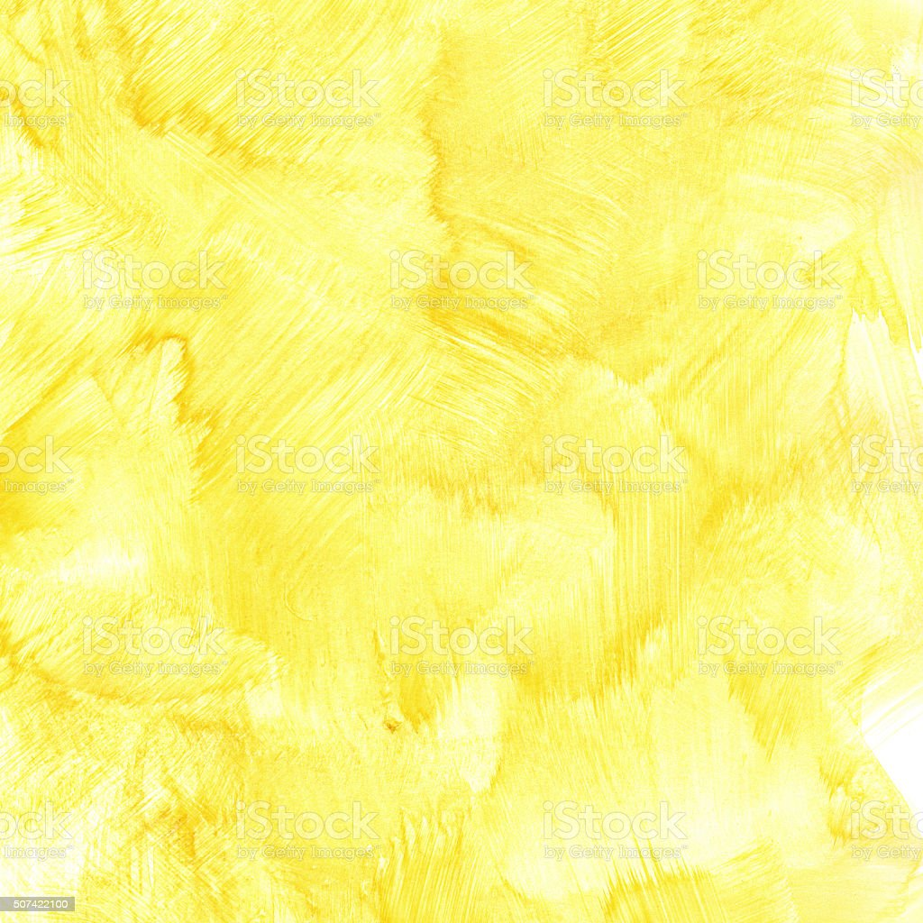 Yellow Watercolor Background Stock Photo & More Pictures