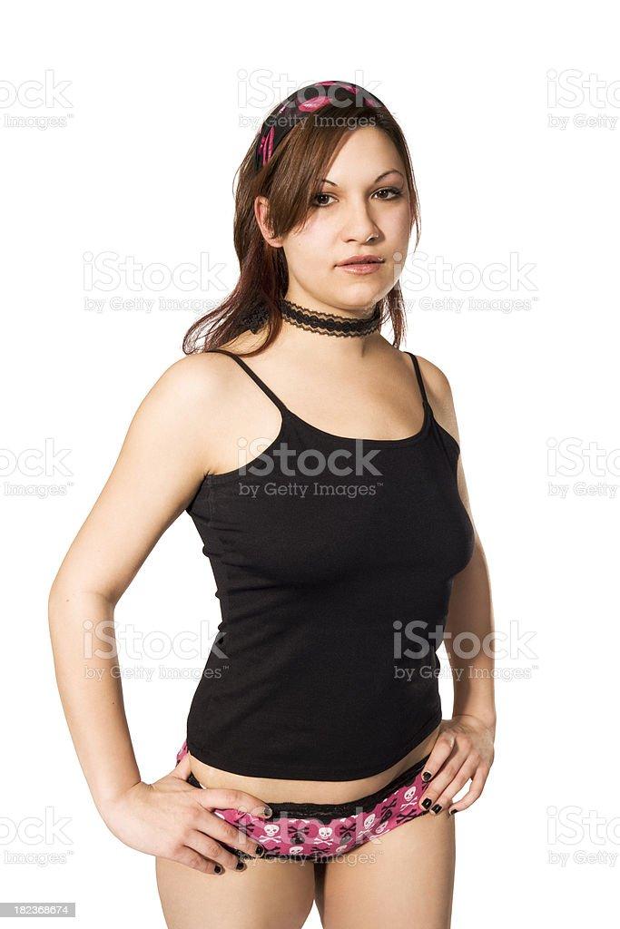 Photos Of Women In Panties : photos, women, panties, Young, Woman, Panties, Tanktop, Stock, Photo, Download, Image, IStock
