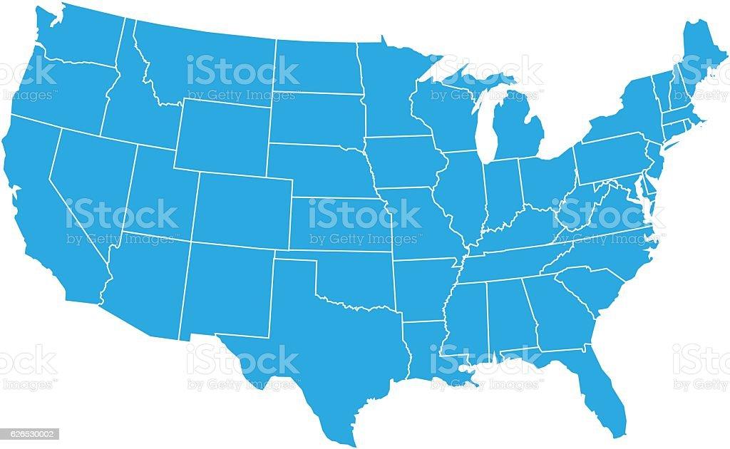 best us map illustrations
