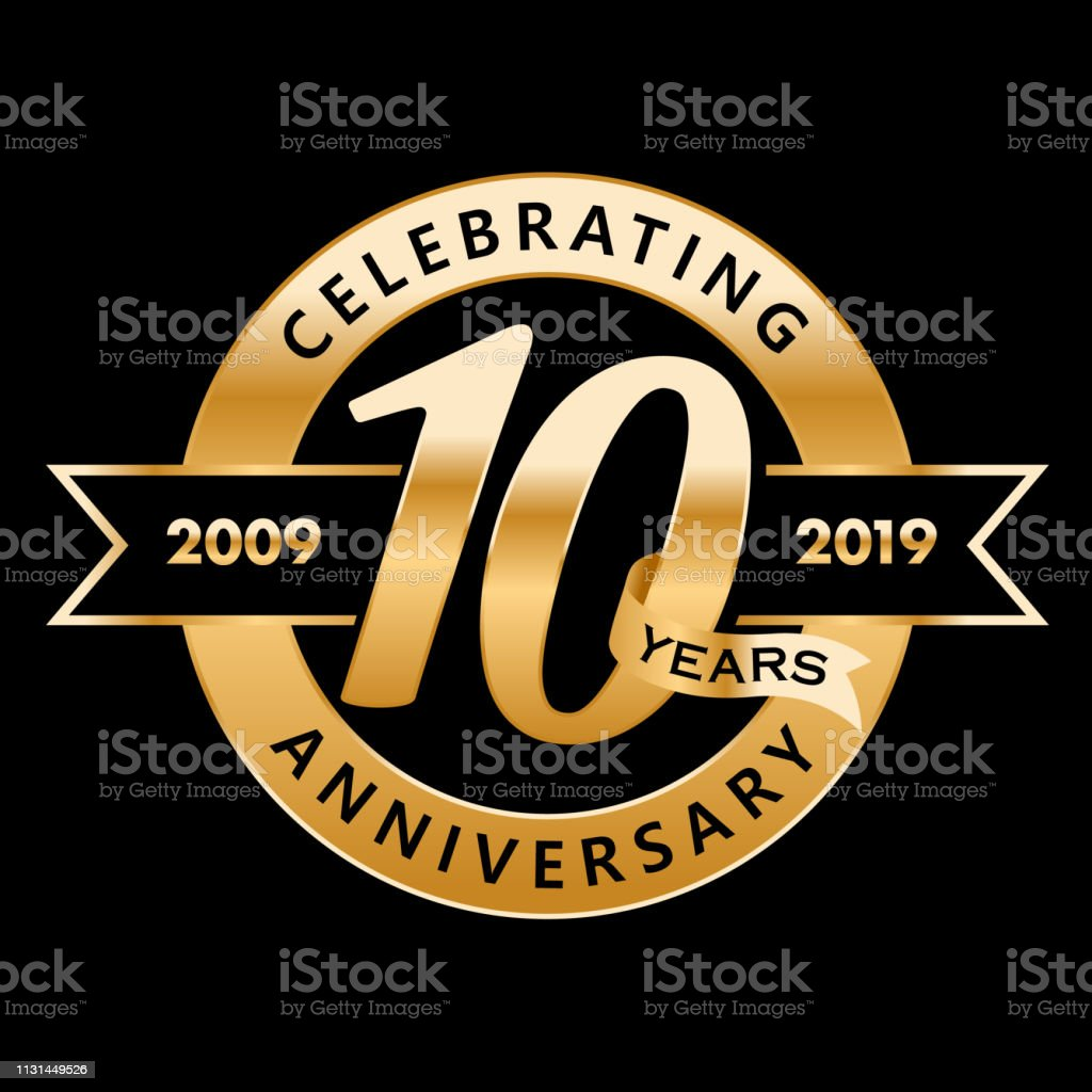 10th anniversary clip art