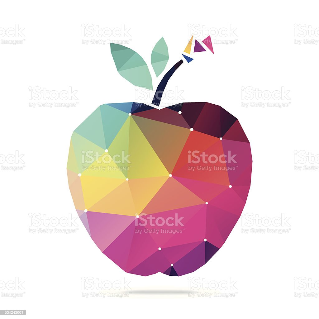 apple clip art vector &