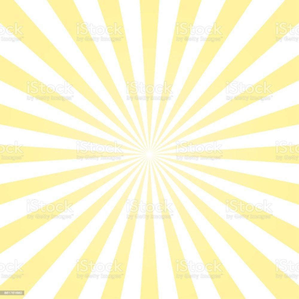 medium resolution of abstract light yellow sun rays background vector royalty free abstract light yellow sun