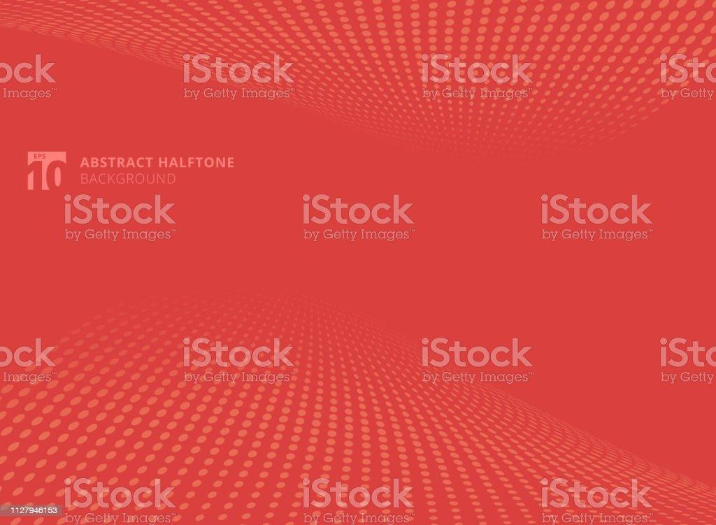 https www istockphoto com fr vectoriel r c3 a9sum c3 a9 des points couleur rouge demi teinte perspective de fond gm1127946153 297474174