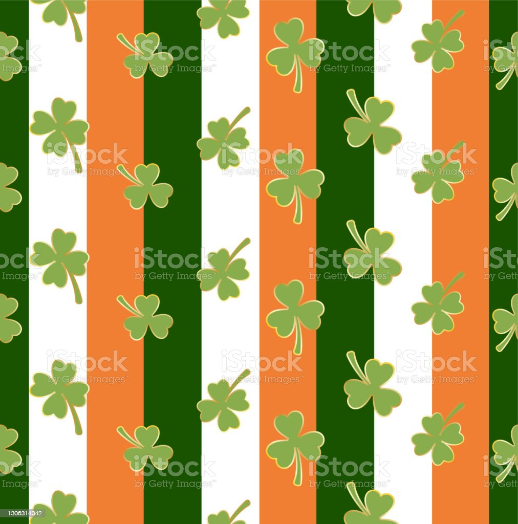 110 seamless vertical pattern for saint patrick s day illustrations clip art