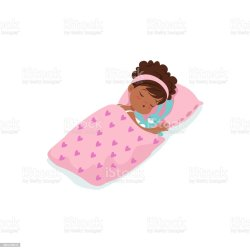 sleeping cartoon bed vector character african illustration adorable mouse baby blanket chair cute africa laptop cat child germany human age