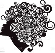 afro hairstyle stock vector art