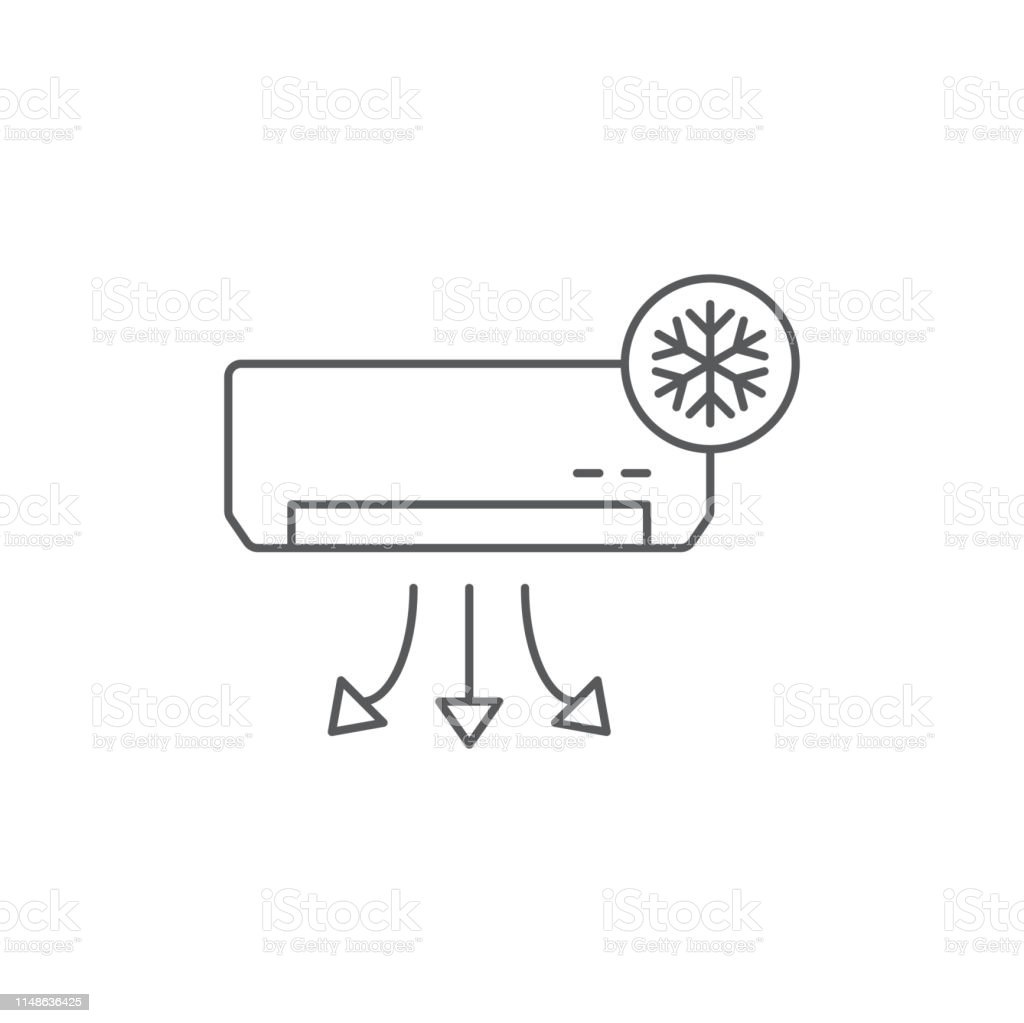 best airconditioner illustrations royalty
