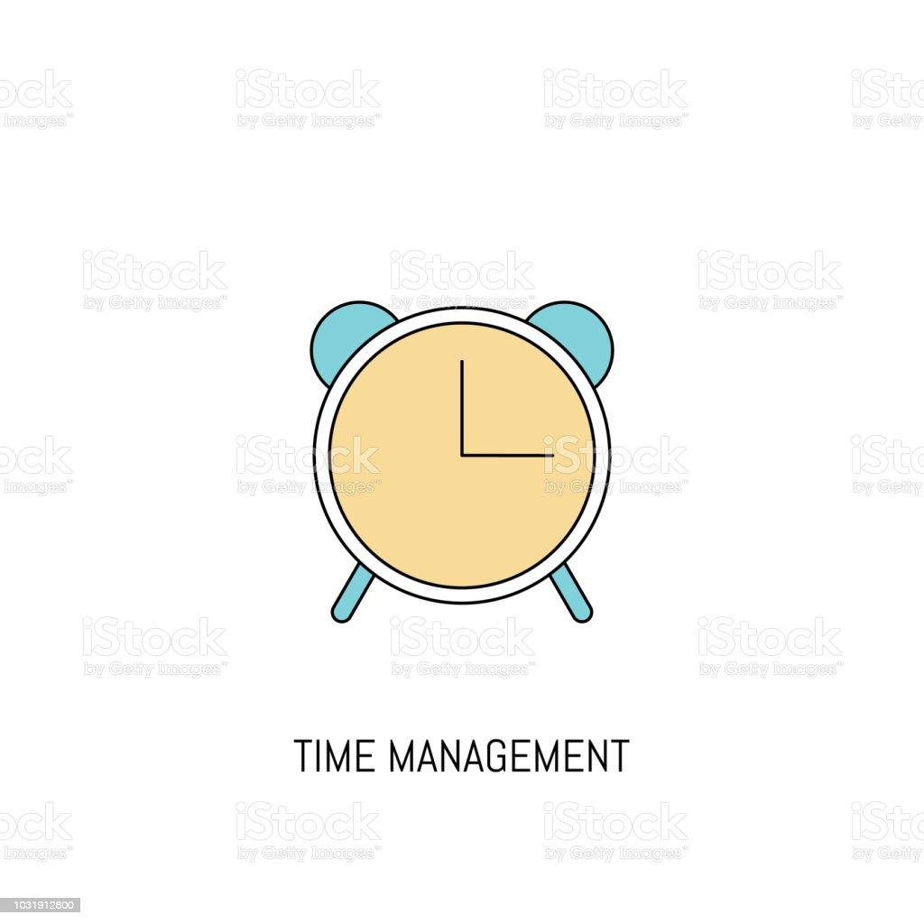 hight resolution of alarm clock colorful line icon alarm clock simple icon illustration line icon useful for web mobile software apps eps 10 illustration