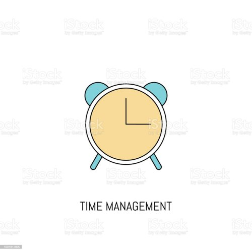 small resolution of alarm clock colorful line icon alarm clock simple icon illustration line icon useful for web mobile software apps eps 10 illustration