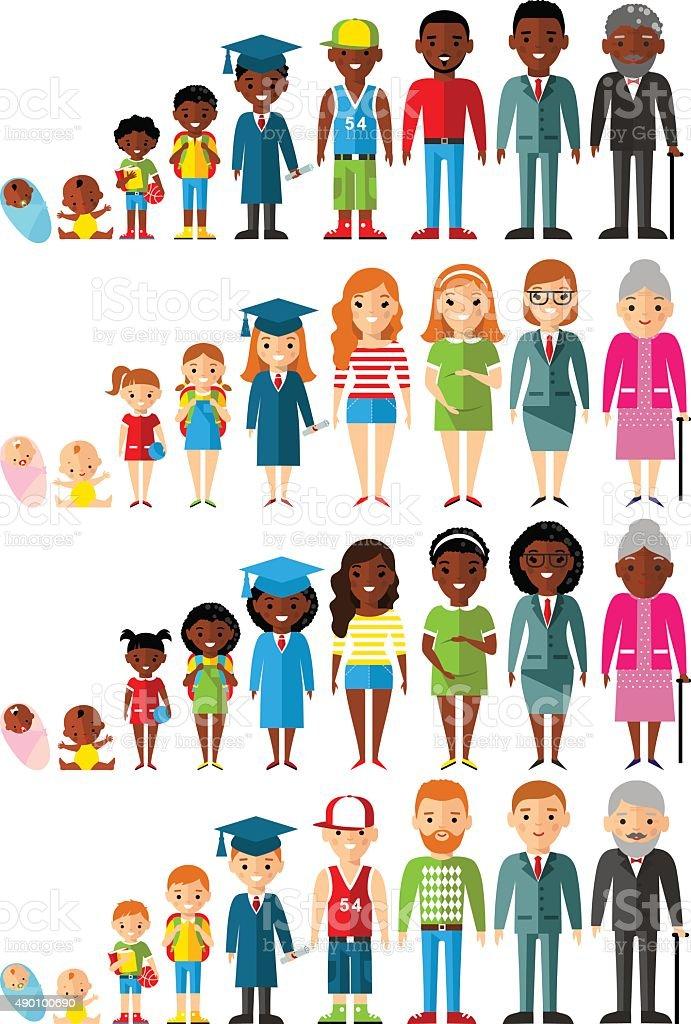 Diverse Families Clipart : diverse, families, clipart, 20,632, Black, Family, Illustrations, IStock