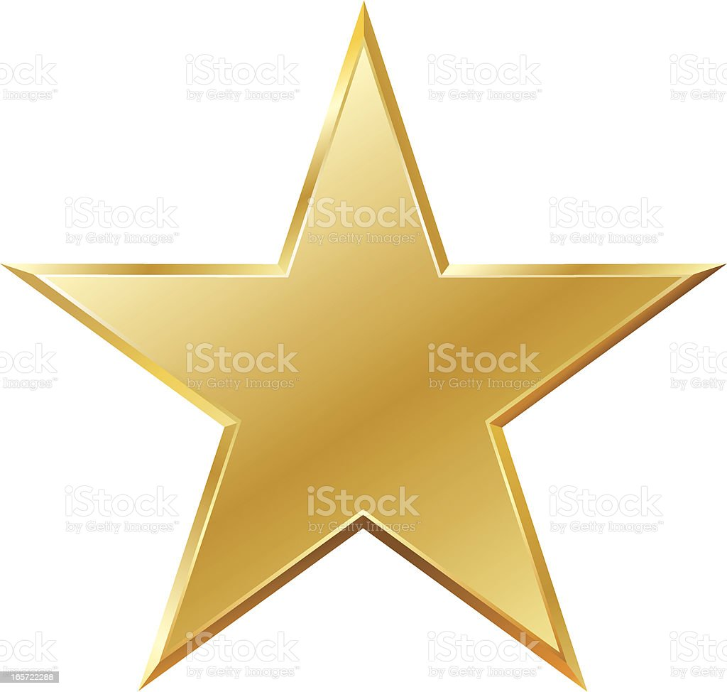 gold colored clip art vector