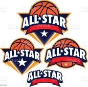 allstar basketball design pack