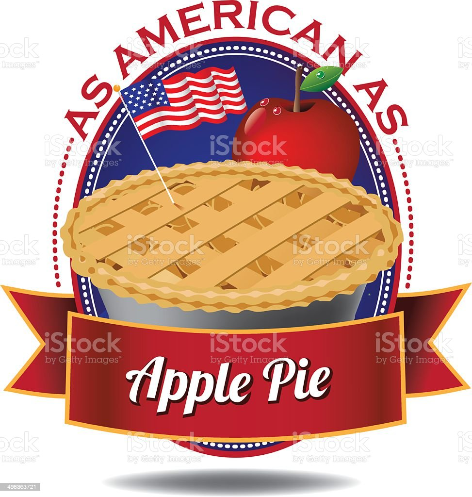 apple pie illustrations royalty-free