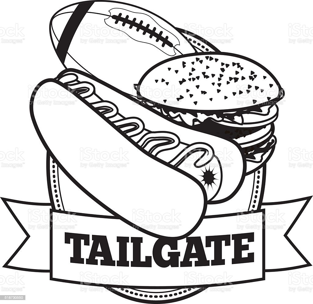 royalty free tailgate party clip