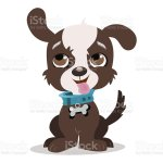 An Animation Of A Brown And White Puppy Dog Stock Illustration Download Image Now Istock
