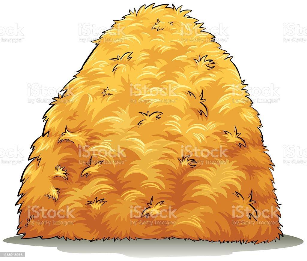 royalty free hay clip art vector