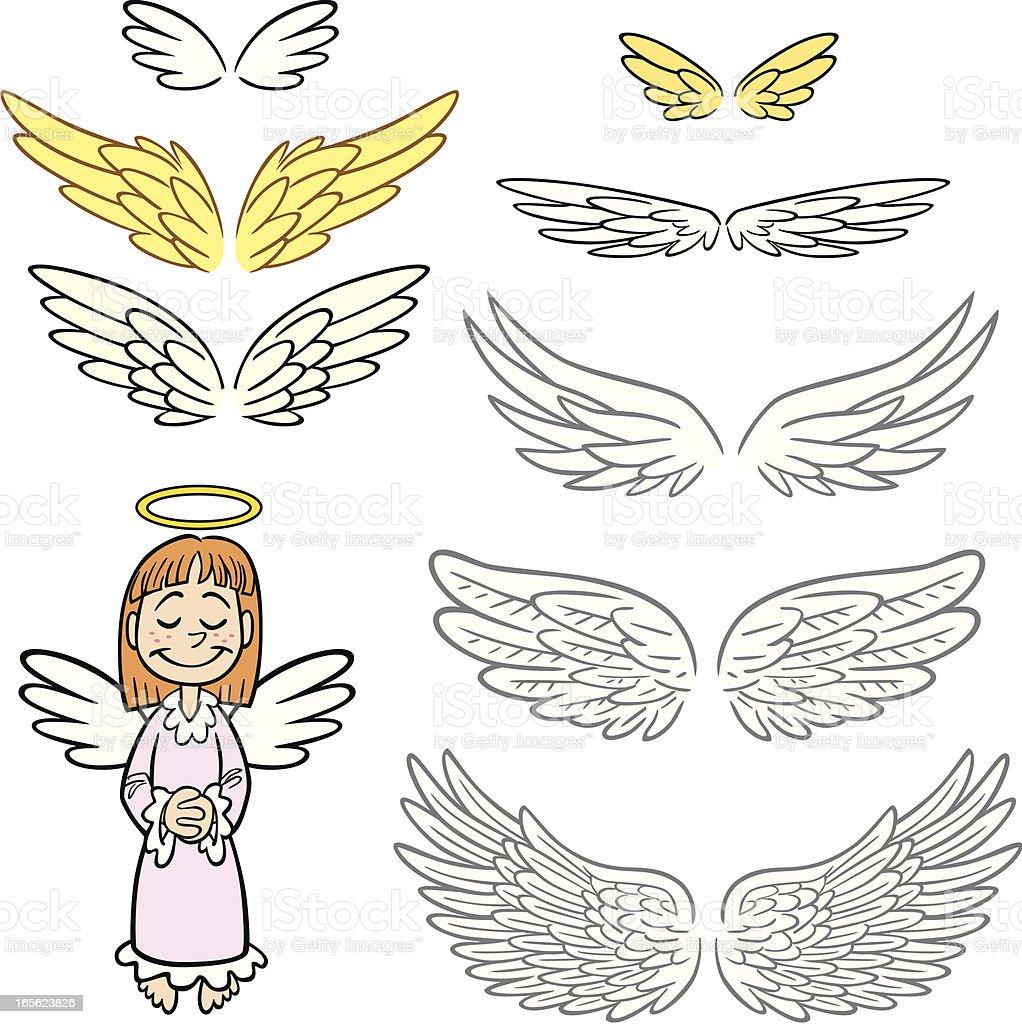 best angel wings illustrations