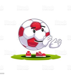 animated cartoon soccer ball emoticon supporter fan character smiling football clapping hands applauding smiley face flat style vector clipart  [ 1024 x 1024 Pixel ]