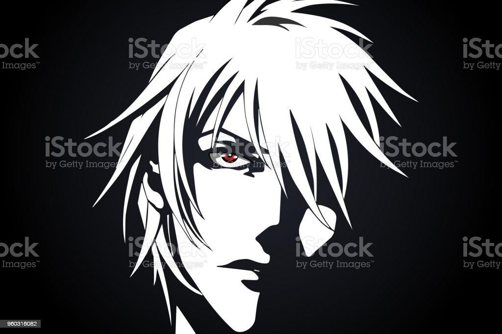 anime face cartoon