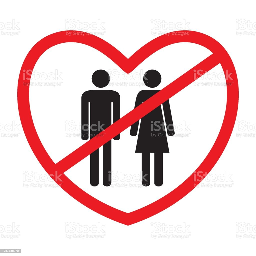 antiheterosexual icon no love