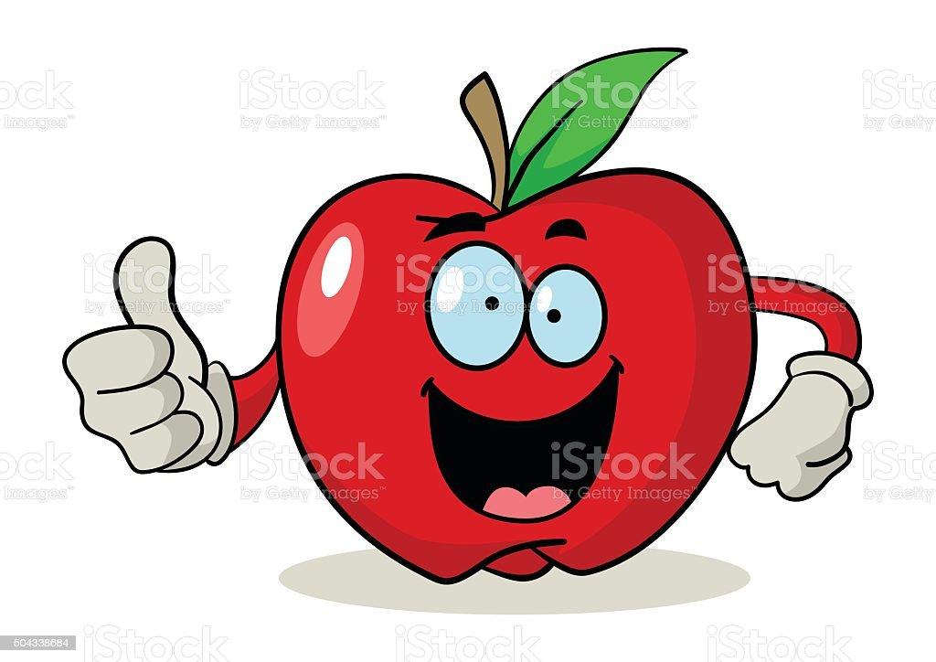 apple cartoon illustrations
