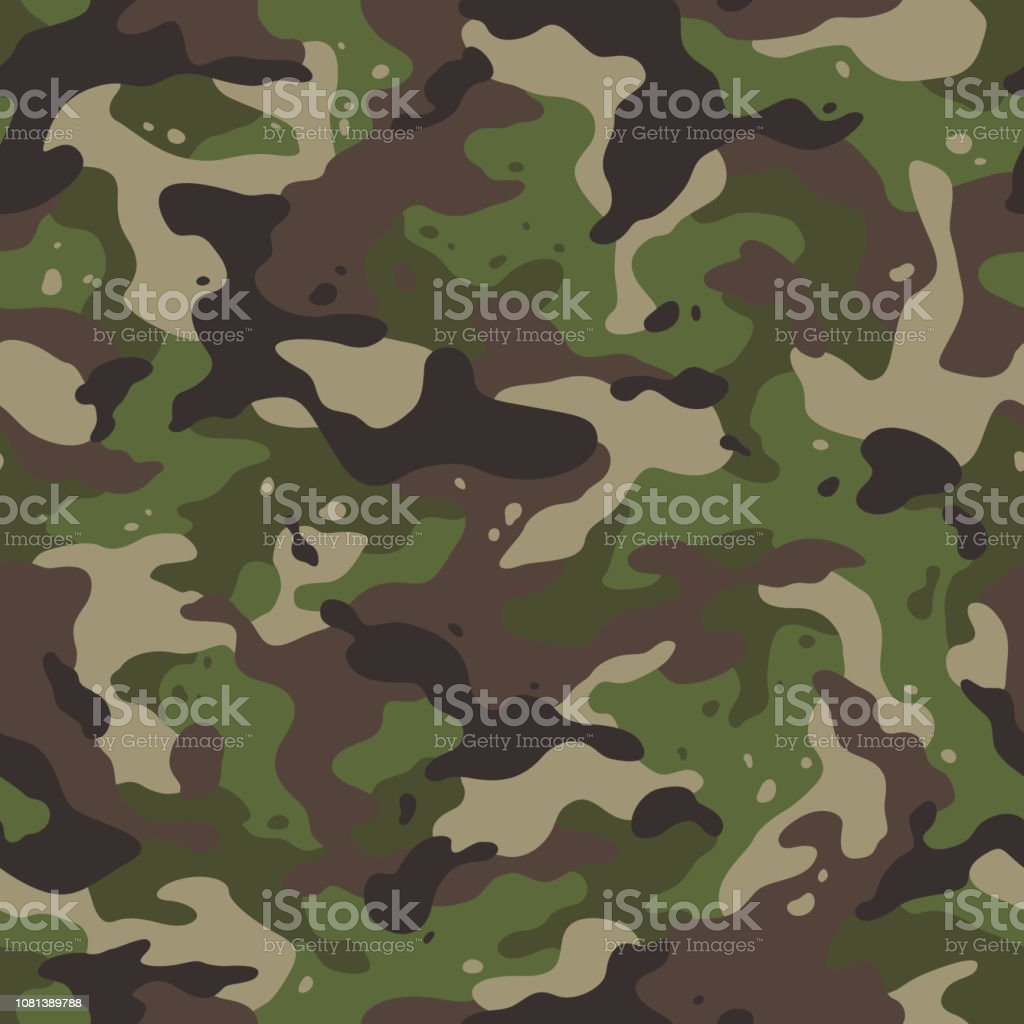 best camouflage clothing illustrations