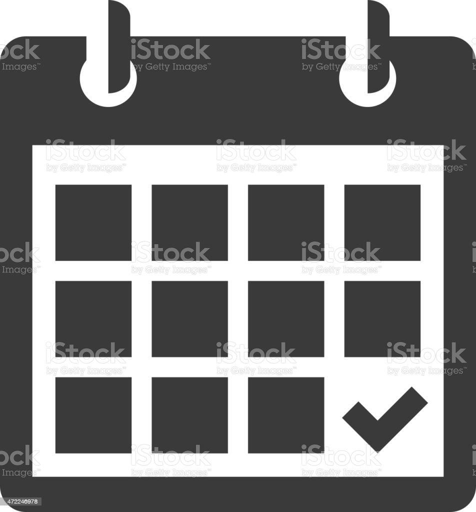 calendar clip art vector
