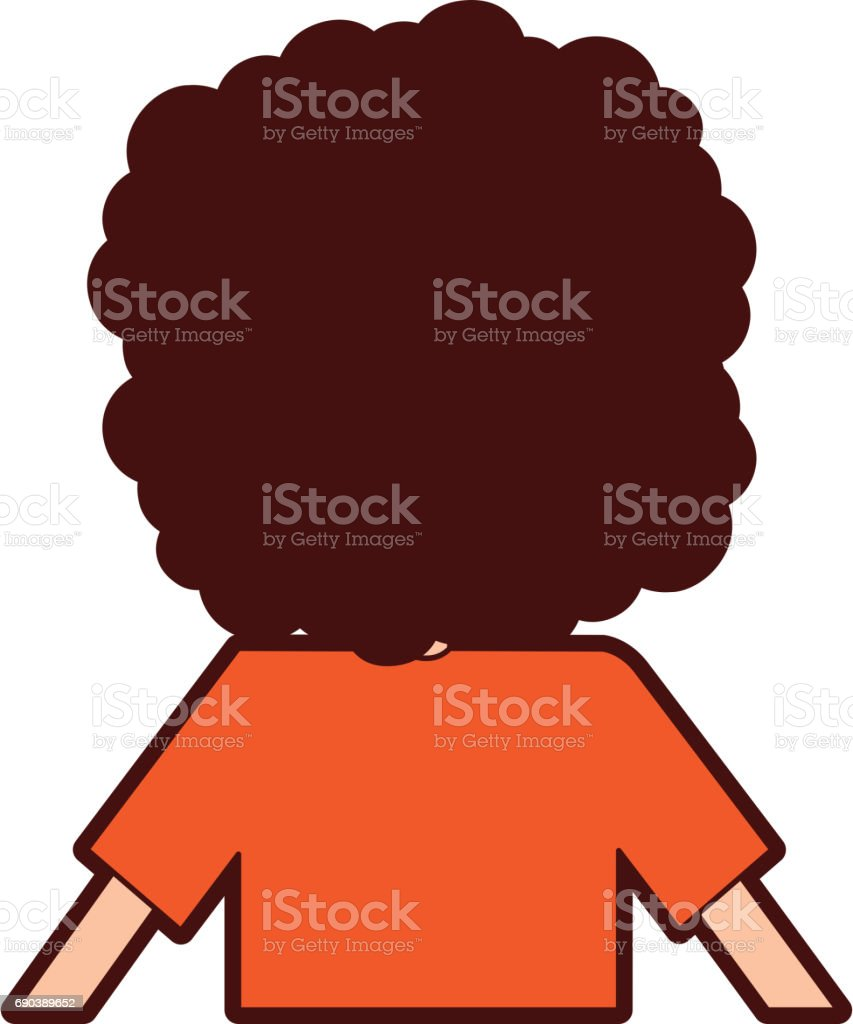 royalty free cartoon curly hair