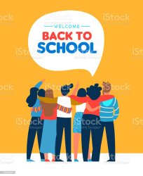student diverse card vector friend clip illustrations illustration students adult