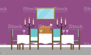 dining empty background vector clip illustration illustrations graphics vectors