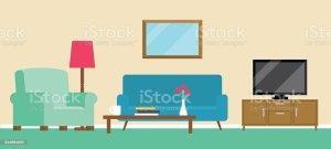 living clipart cartoon clip illustrazione achtergrondillustratie illustrations salone fondo illustratie graphics similar