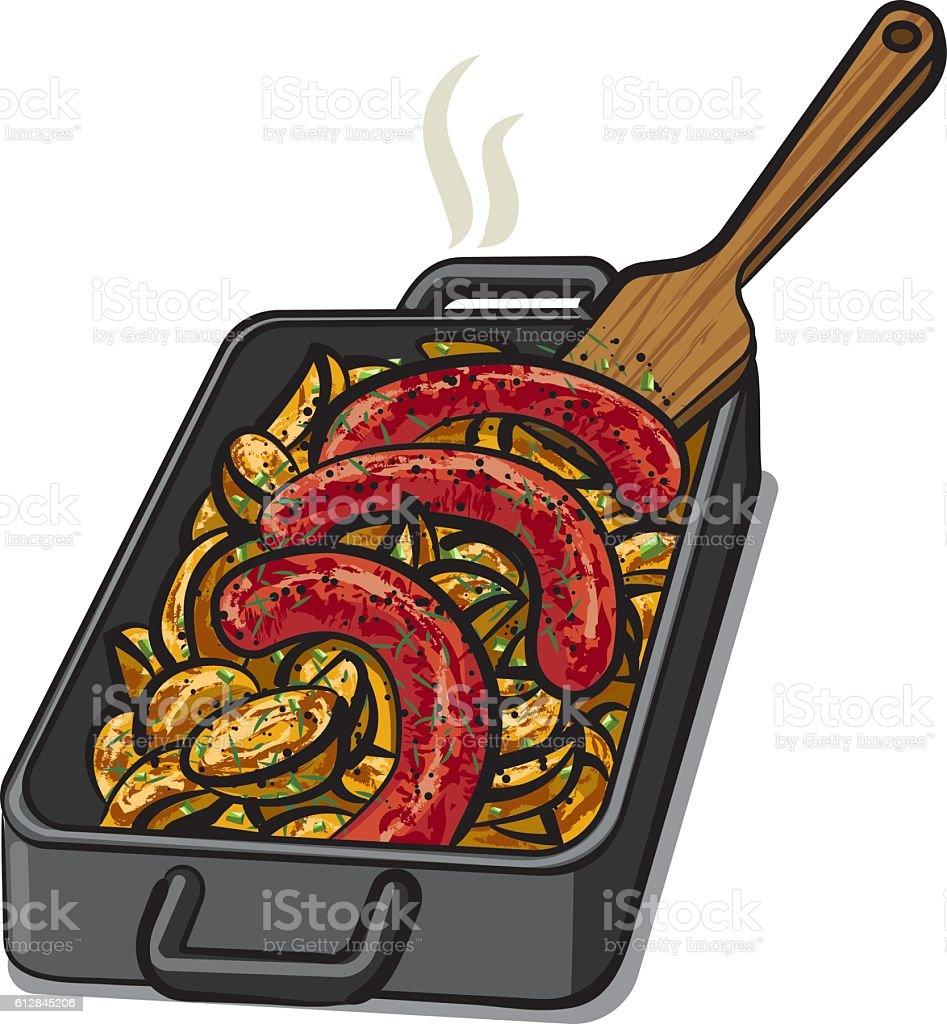 royalty free breakfast sausage