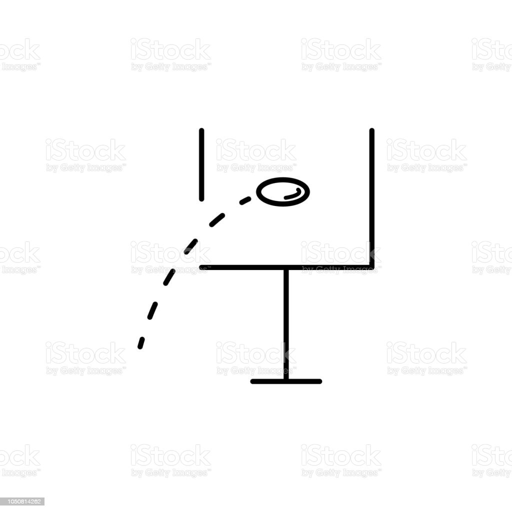 hight resolution of ball in flight rugby outline icon element of sports items icon for mobile concept and web apps thin line ball in flight rugby outline icon can be used for