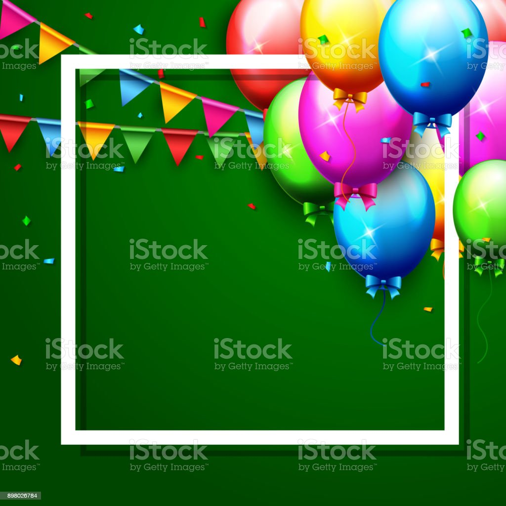 royalty free colorful balloons