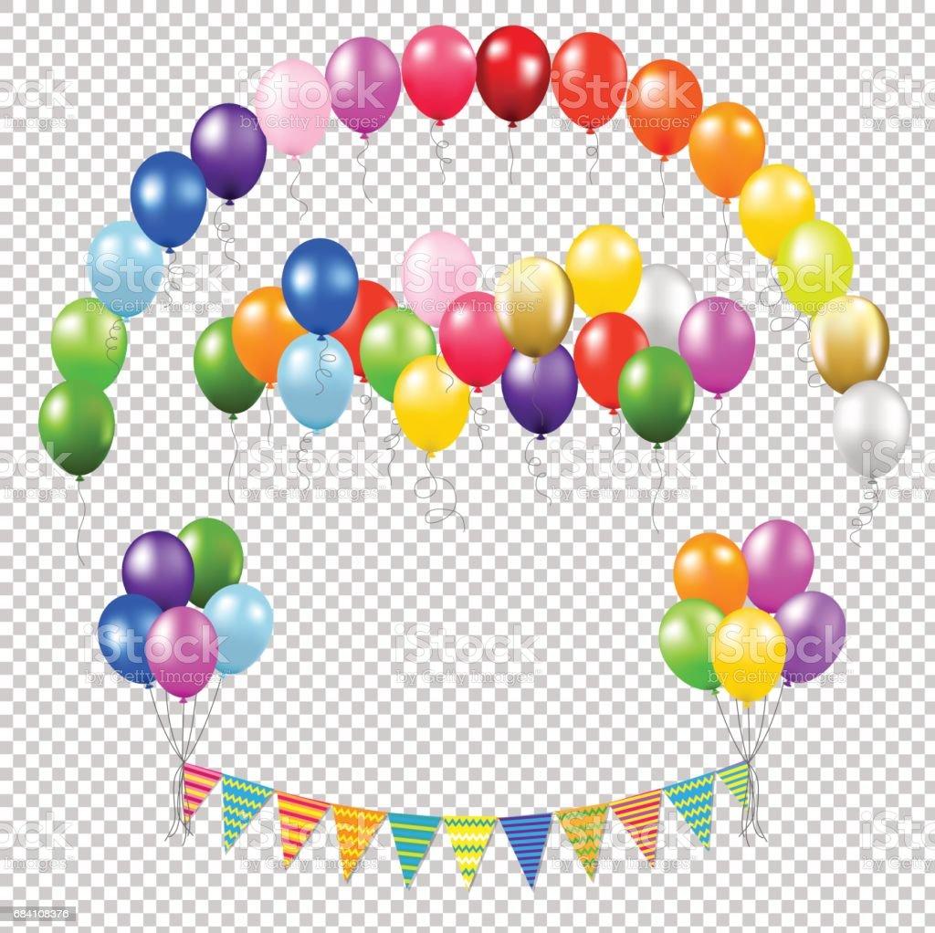 royalty free happy retirement balloon