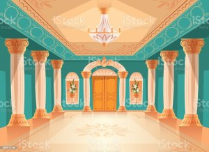 castle cartoon inside vector palace clip royal ballroom hall illustration illustrations graphics vectors similar