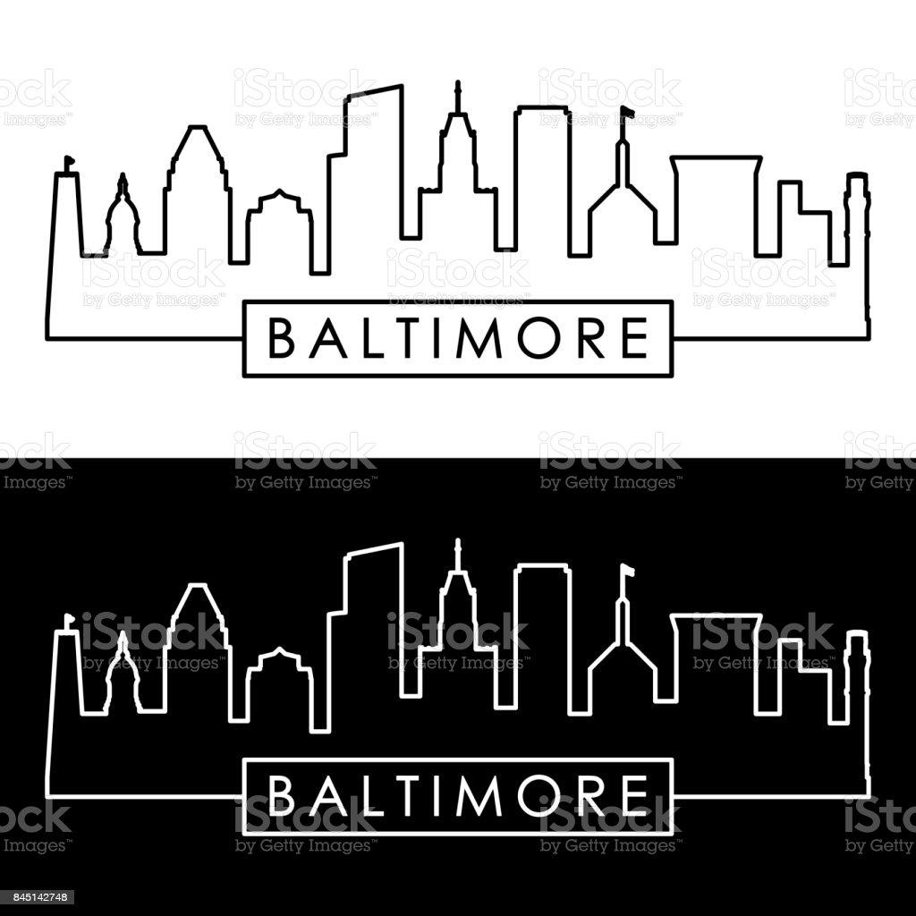 royalty free baltimore clip art