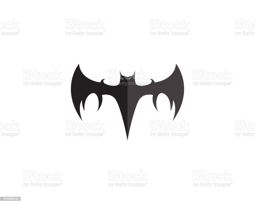 Bat Icon Template Vector Royalty-Free Bat Icon Template Vector Stock Vector  Art &