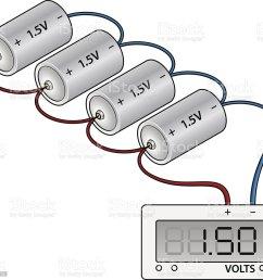 battery wiring diagram royalty free stock vector art [ 1024 x 966 Pixel ]