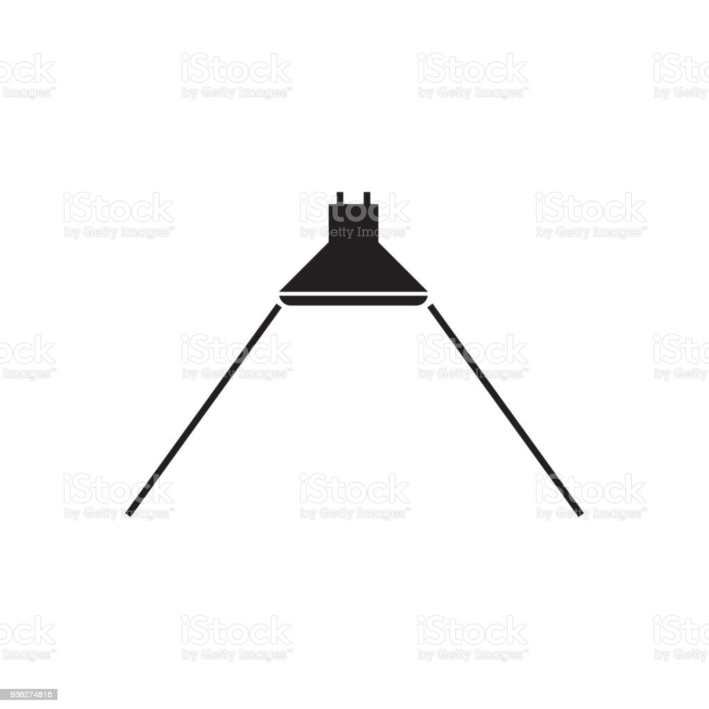 hight resolution of beam angle icon for led light vector illustration royalty free beam angle icon