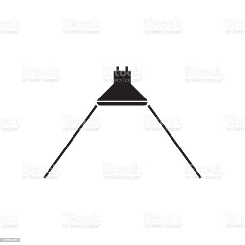 small resolution of beam angle icon for led light vector illustration royalty free beam angle icon