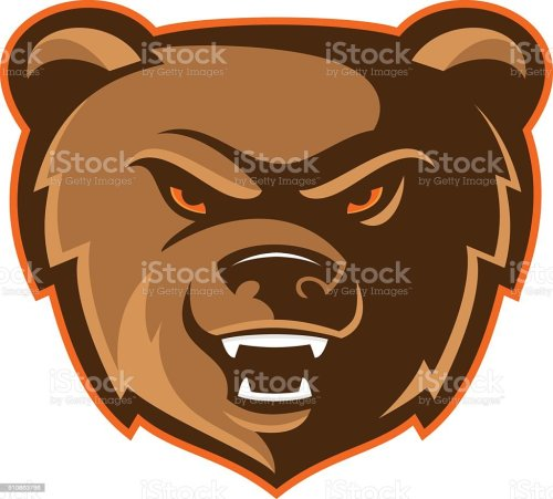 small resolution of bear mascot logo royalty free bear mascot logo stock vector art amp more images