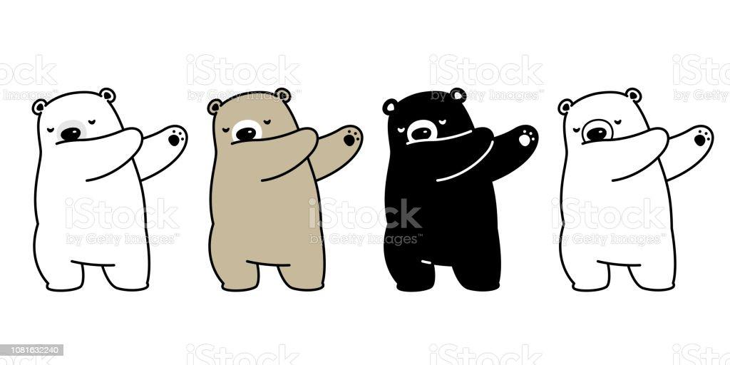 bear vector polar bear