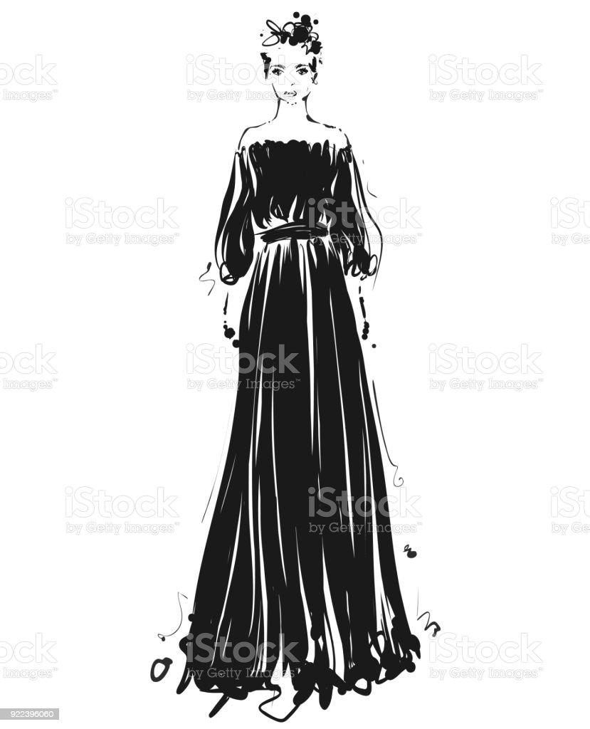 Diseños De Vestidos Para Dibujar Faciles
