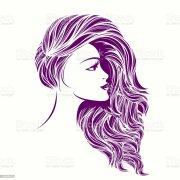 beauty and hair salon vector iconbeautiful